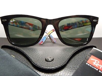 RAY BAN  Wayfarer RB2140 Special Series #10 with Case, Paper & Cloth
