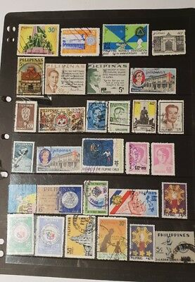 stamps  philippines  - Used - Lot 907