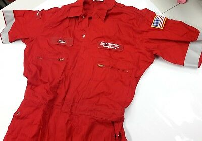 NEW Halliburton Wenaas coveralls size 48 excellent quality NEVER USED