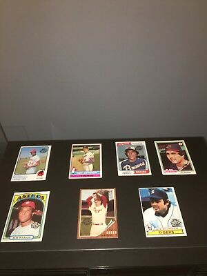 Lot Of 7 Original 2015 Topps Orginial Baseball Cards ~ Old Topps buyback Cards
