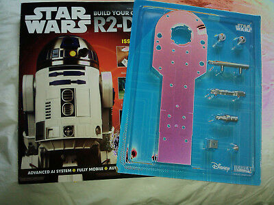 DEAGOSTINI STAR WARS - Build Your Own R2-D2 Issue 2 Sealed With Parts