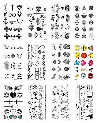 Us Seller 10 Sheets Sexy Party Favor Owl Cat Dog Snake Tiger