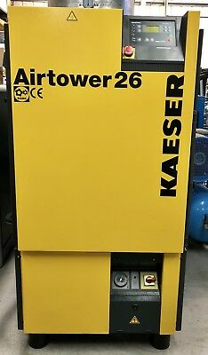 HPC / Kaeser Airtower 26 Rotary Screw Compressor With Dryer! 78Cfm! 15.0Kw!