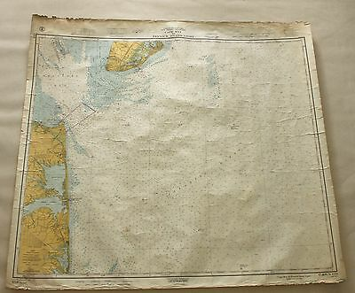 Cape May to Fenwick Island #1219 Vintage Sailing Map C&GS Nautical Chart