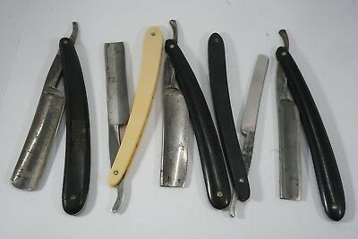 Lot of 5 Vintage Shaving Straight Razors! Bengall, Imperial, Germany, Lee's