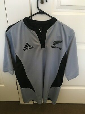 Mens Adidas New Zealand All Blacks Rugby Jersey Size Small