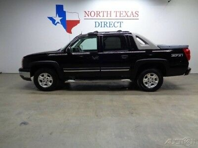 Chevrolet Avalanche 2005 Z71 4WD Leather Heated Seats Sunroof 5.3L V8 2005 2005 Z71 4WD Leather Heated Seats Sunroof 5.3L V8 Used 5.3L V8 16V OnStar