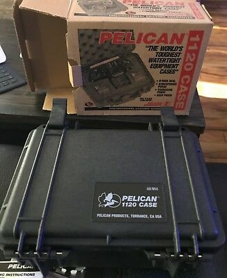 Pelican  1120NF Case - Black without foam - New in box Part #1120-001-110 (1120)