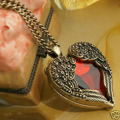 Free Shipping Girl Jewelry Pretty Heart Pendant Necklace