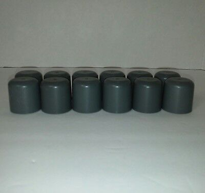 NEW Drive Medical 10107 Plastic Walker Glide Caps - Gray - 6 Pairs FREE SHIP RT5