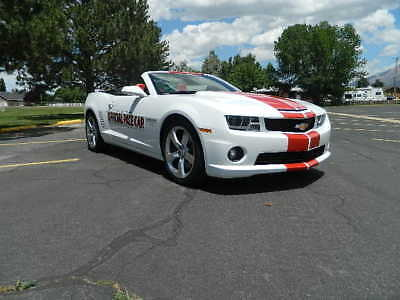2011 Chevrolet Camaro ss rs 2011 camaro indy pace car