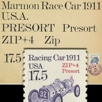 UNIQUE PRE-PRODUCTION PHOTO-LETTERING for Transportation Series US Postage Stamp