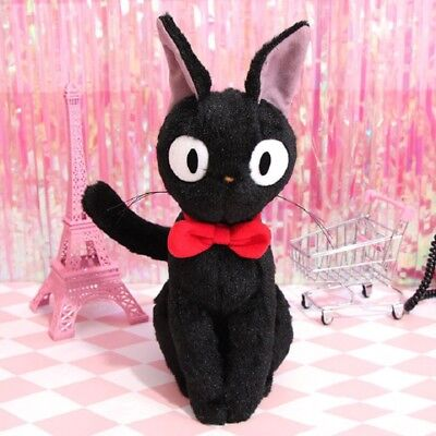 30CM Black Cat jiji Kiki's Delivery Service Backpack Plush Bag for Birthday gift
