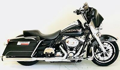 2009 Harley-Davidson Touring  2009 Harley Davidson Road King FLHR Vivid Black 96 Cubic inch 6-speed Lowered