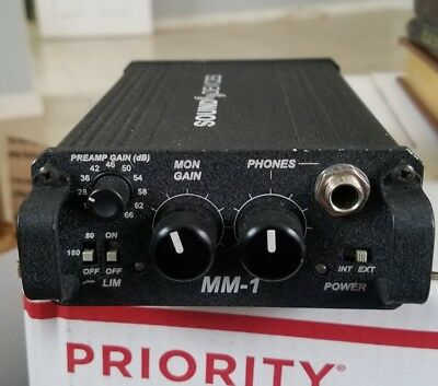 Sound Devices MM 1  Mic Pre !! For Filmmakers and Musicians