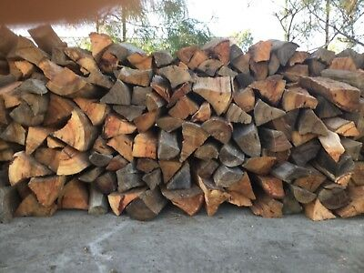 Firewood- Gost gum delivered and stacked