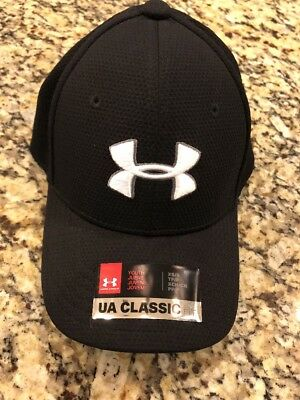 New Under Armour Boys' Printed Blitzing Hat XS/SM Style 1254660 001 MSRP $17.99