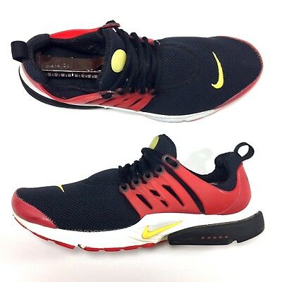 finest selection 549b5 2e292 ... promo code mens nike air presto qs essential sneakers black red yellow  size 10 99ace bd6be