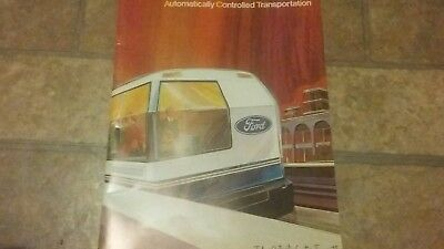1972 Ford Automatically Controlled Transportation Brochure