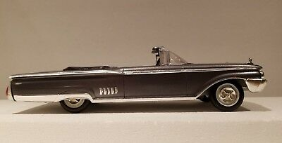 Original AMT Screwbottom 1960 Mercury Parklane Convertible Adult Built 1/25th