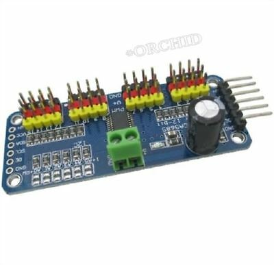 PCA9685 16 Channel 12-Bit Pwm Servo Motor Driver I2C Module For Arduino Robot nl