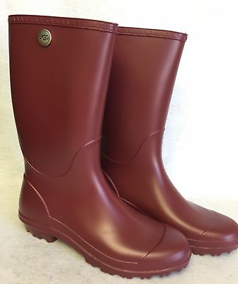 2eed67eb417 Ugg Shelby Matte Women's Rain Boots Rubber Boots Garnets, Olive, Navy  6,7,8,9