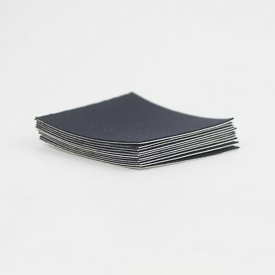 "Black Fabric Repair Patch - Black 2.5"" x 2.5"" - 25 Pack"