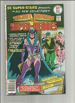 DC Super Stars #17 (Nov-Dec 1977, DC) FN SECRET ORIGINS OF HUNTRESS COMBINE SHIP