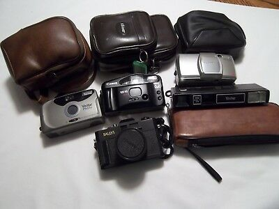 35MM Film Vintage Camera's Lot of 5