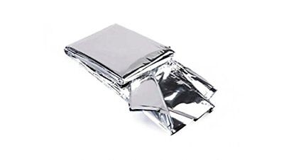 2 x Premium Foil Thermal Emergency Survival Blanket First Aid Water Proof