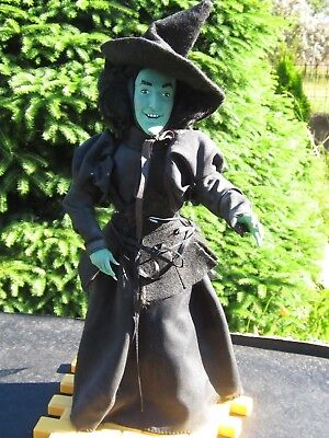 Hamilton Gifts Wizard of Oz Wicked Witch 1988 14 Inch doll with stand