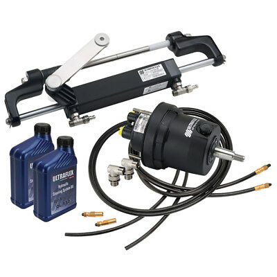Hydraulic Steering Boat Marine Outboard Steering Kit up to 150 HP Outboard Steer
