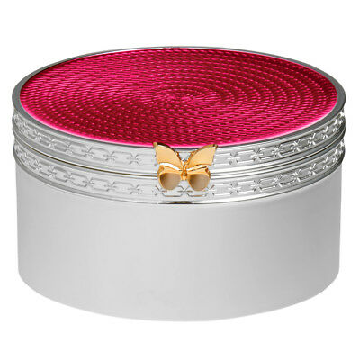 NEW Wedgwood Vera Wang With Love Treasures Pink Butterfly Box