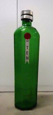 """Tanqueray No. 10 Gin - 17.5"""" / 3 Liter Glass Bottle"""
