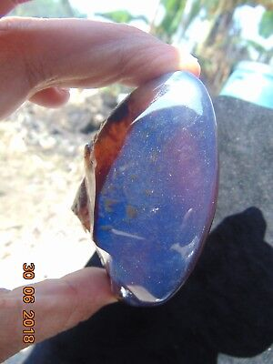 67 Gram Rough Polished Indonesian Blue Amber 87x53x36 mm