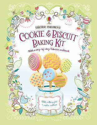Usborne Children's Cookie and Biscuit Baking Kit by A Wheatley NEW (P/B 2016)