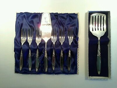 "Vintage Grosvenor ""Christine"" Silverplated Cake Serving Set"
