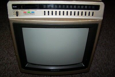 "Sony 12"" Color Trinitron KV-1260"