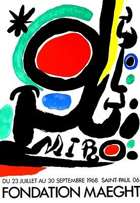 Miró, Joan - 1968 - Fondation Maeght