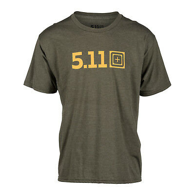5.11 Tactical T-Shirt Legacy Pop Tee in Military Green