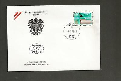 AUSTRIA -1986 The 3rd International Geotextile Convention in Vienna -FDC