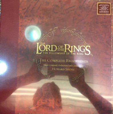 AKZEPTABEL: The Lord of the Rings The Fellowship Of The Ring Vinyl LP Soundtrack