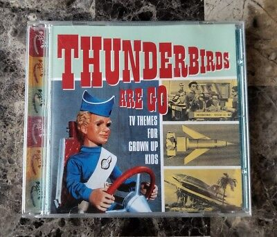 Thunderbirds Are Go: TV Themes For Grown Up Kids - Various Artists, UK Import CD