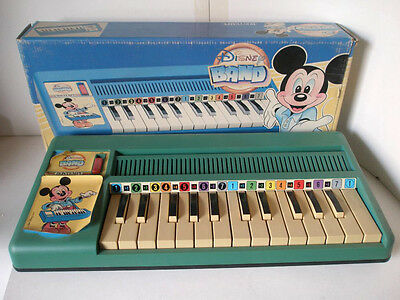 Vintage Piano Toy from Disney Band, BONTEMPI, Unused