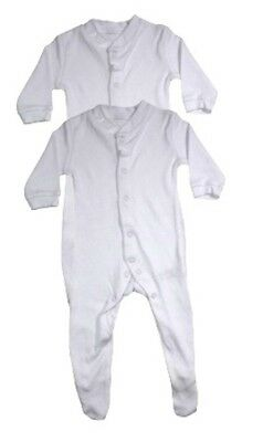 Sleep suits/baby grows from Newborn/Tiny to 2-3 Yrs - White, Green, Red, Yellow