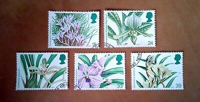GB QEII Comm. Stamps. 1993 (SG 1659-63) World Orchid Conference. Set from FDC