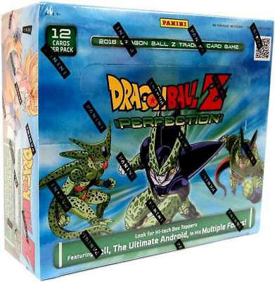 Panini Dragon Ball Z: Perfection Booster Box Trading Card Game DBZ - 24 Packs
