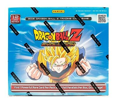 Panini Dragon Ball Z: Evolution Booster Box DBZ 24 Packs!