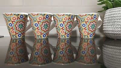 Villeroy & Boch NewWave 4 mugs - Farida (excellent condition)