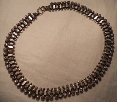 Antique silver 925 Necklace Anglo Indian Victorian Collar
